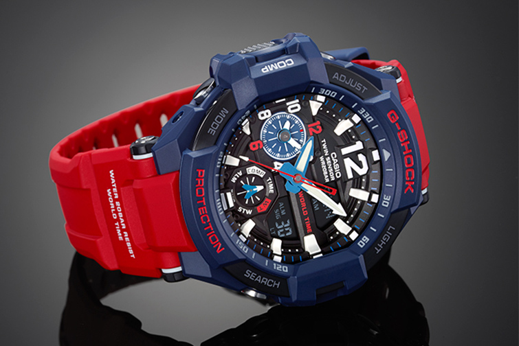 G-Shock GA-1100-2AER watch - Gravitymaster