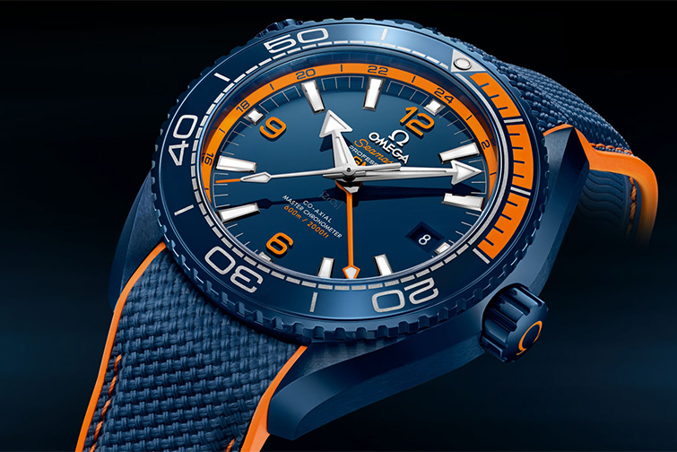 Omega's Latest Seamaster Planet Ocean Is Dressed in