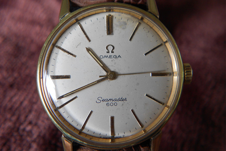Omega watch history